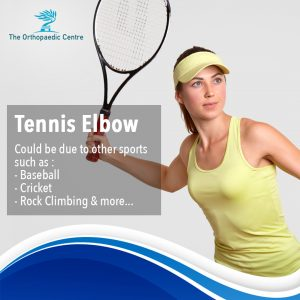 what causes tennis elbow